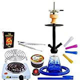 Amy Deluxe I need you 038, 60 cm, Klick, Premium-Shisha-Set mit Kamin,...
